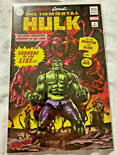 Nycc 2019 Abosolute Carnage Immortal Hulk Mico Suayan Signed Variant Cover