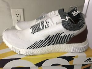 LF2 RRP £160.99 Mens Adidas NMD Racer White//Black Trainers