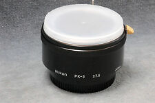 NIKON EXTENSION TUBE PK-3 27.5MM NON-AI