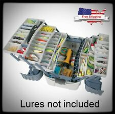 Fishing Tackle Box Bait Storage Case 7 Tray Lures Hip Roof Organizer Hooks