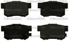Disc Brake Pad Set-Galaxy Ceramic Disc Pads with hardware Rear NewTek SCD537H