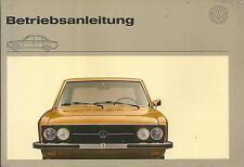 VW k70 manual de instrucciones 1972 manual de instrucciones manual bordo libro ba