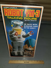 Vintage Robot YM-3 (B-9) Lost in Space Battery Talking Figure by Masudaya Toys