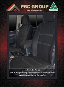 Seat Cover Mitsubishi Pajero (2000-Now) Front 100% Waterproof Premium Neoprene