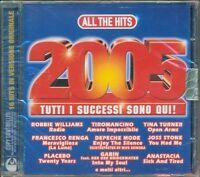 All The Hits 2005 - Placebo/Depeche Mode/The Verve/Kravitz/Tiromancino Cd Nuovo