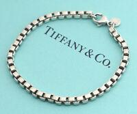 TIFFANY&Co Venetian Link Bracelet Sterling Silver 925 d3367