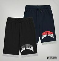 Boys Converse Logo Drawstring Soft Jersey Shorts Sizes Age from 8 to 15 Yrs