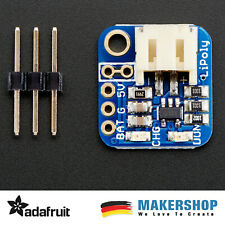 Adafruit LiIon/LiPoly Backpack Add-On for Pro Trinket/ItsyBitsy 2124