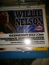 Willie Nelson * Rare Concert Flyer Mini Poster *.