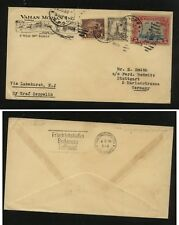 US  571 on Graf Zeppelin flight cover to Germany  1929             MS0316