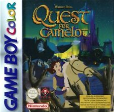 Nintendo GameBoy Color Spiel - Quest for Camelot Modul mit Anl.