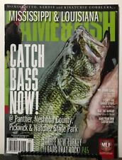 Mississippi Louisiana Game & Fish Catch Bass Now March 2018 FREE SHIPPING JB