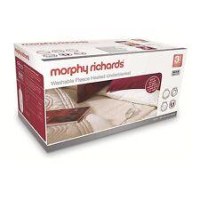 Morphy Richards Washable Heated Double Underblanket 4 Heat Settings 600002