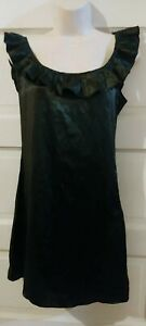 Jenny Han Sleeveless Black Silk Dress 8