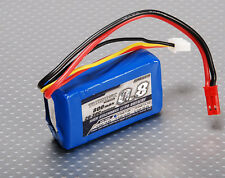 Turnigy 800mAh 2S 7.4V 20C - 30C Lipo Battery Pack JST Heli Quad Car UK Stock