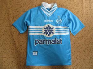 Maillot Olympique de Marseille Adidas Football shirt OM Eurest Parmalat - XS