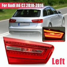 LH Left Rear Tail Light Brake Lamp W/ LED Bulb Assembly For Audi A6 C7  A