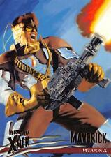 MAVERICK/ X-Men Fleer Ultra Wolverine (1996) BASE Trading Card #03