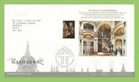 G.B. 2008 St Pauls Cathedral M/S Royal Mail First Day Cover, Tallents House