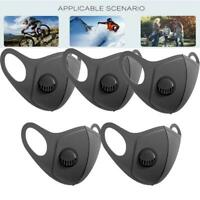 5× Premium Anti Air Pollution Face Mask Respirator Washable reusable Mouth Cover