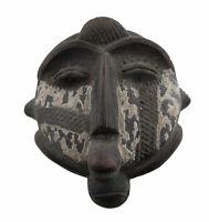 Masquette Fetish Tartaruga Arte Africano IN Terracotta Maschera Divinatorio