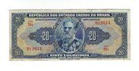 20 Cruzeiros Brasilien 1943 C021 / P.136 - Brazil Banknote