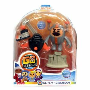 Go Jetters Basic Click-On Glitch & Grimboot Toy