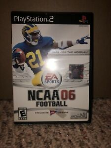 🔥Rare NCAA 06 Football Sony Playstation 2, 2005 Complete & Tested Free Shipping