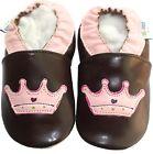Livraison gratuite semelle souple de chaussures de bébé en cuir 0-3y