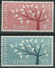 IRLANDA EUROPA cept 1962 Sin Fijasellos MNH