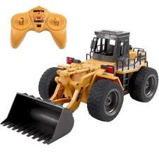 Huina CY1520 2.4G 6ch RC Bulldozer with Die Cast Bucket Construction Vehicle Toy