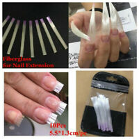 Clear Fiberglass for Nail Extension Nails Acrylic Nails Tips Fibra Manicure Tool
