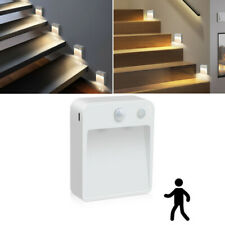 LED Wireless Step Stair Light PIR Motion Sensor Pathway Path Stair Wall Light 1W