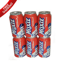 Moxie Soda 6-12oz Cans - Maine Soft Drink - U.S Oldest carbonated beverage