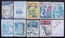 BANTAN Series Lot of 10 - Maurice Gardner - 1st Ed - Signed & Inscribed - HC/DJ