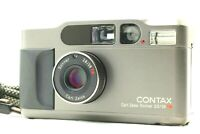 【Near MINT Titan Black】Contax T2 35mm f/2.8 Point & Shoot Film Camera from Japan