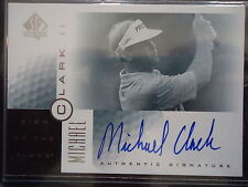 Michael Clark II 2001 SP Authentic Sign of the Times Autograph Card