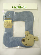 100% Cotton Picture Photo Frame Cover Face Reface Blue Honey Bear