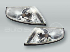 DEPO One-bulb Clear Corner Lights Parking Lamps PAIR fits 1999-2001 SAAB 9-5