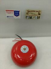 New listing Amseco Fire Alarm Gong Bell | Msb/Exb-03 120 Vac (#17D)