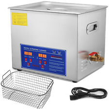 10L Ultrasonic Cleaners Cleaning Equipment Industry Heater w/Timer digital