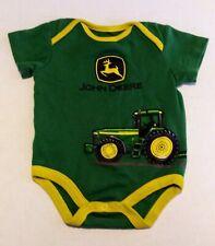 John Deere Infant Unisex One Piece Outfit Size  3/6 Months