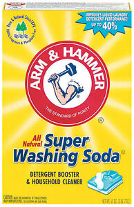 Arm & Hammer No Scent Detergent Booster and Household Cleaner Powder 55 oz