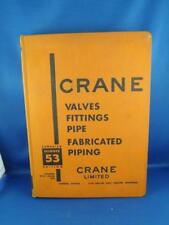 CRANE VALVES FITTINGS PIPE FABRICATED PIPING CATALOG CANADIAN EDITION 53