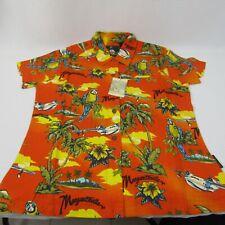 Ladies Un-Breezie Margaritaville casual shirt Medium New