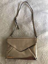 Like New Zara Gold Clutch With Longer Shoulder Straps