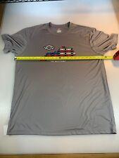 Hanes Cool Dri Triathlon Vo2 Multisport Casual Tech T Shirt Xlarge Xl (6560-2)