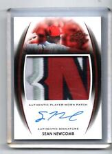 SEAN NEWCOMB  ROOKIE AUTOGRAPH  PATCH 4 COLORS  2014 LEAF TRINITY BRAVES