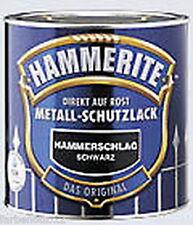 Hammerite Metall-Schutzlack Hammerschlag schwarz 250ml #