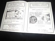 RARE 1934 New York Movie Theater Pressbook Stamboul Quest Born To Be Bad M Loy